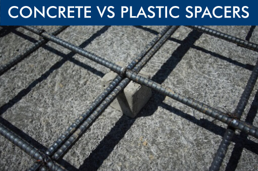 Plastic Rebar Spacers vs Concrete Rebar Spacers